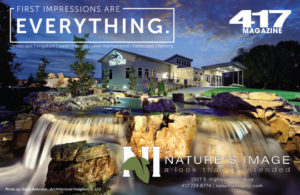 Natures Image Landscape Contractors Springfield, MO - advertisement in 417 Magazine - Spring Home Issue